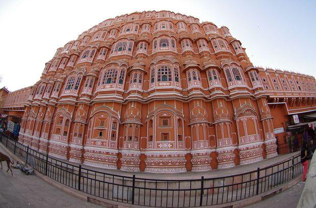2014-03-18 Inde Jaipur Hawa Mahal Palais des Vents