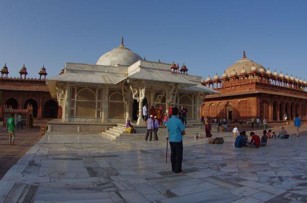 2014-03-19 Inde Fatehpur Sikri Jama Masjid Salim Chisti