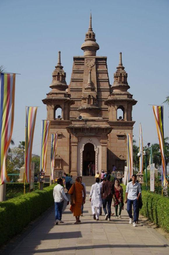 2014-03-21 Inde Sarnath Temple Mulagandhakuti Vihara