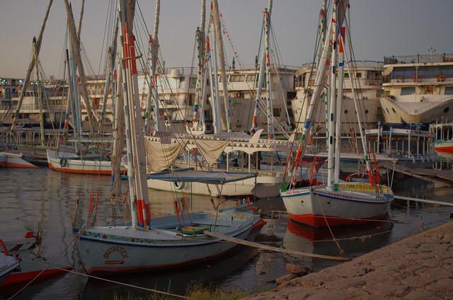 2014-11-12 Egypte Louxor Felouque Nil