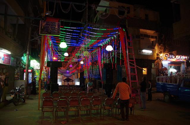 2014-11-13 Egypte Louxor Preparation Mariage