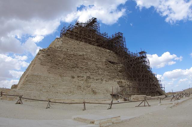 2014-11-15 Egypte Saqqarah Pyramide Djeser