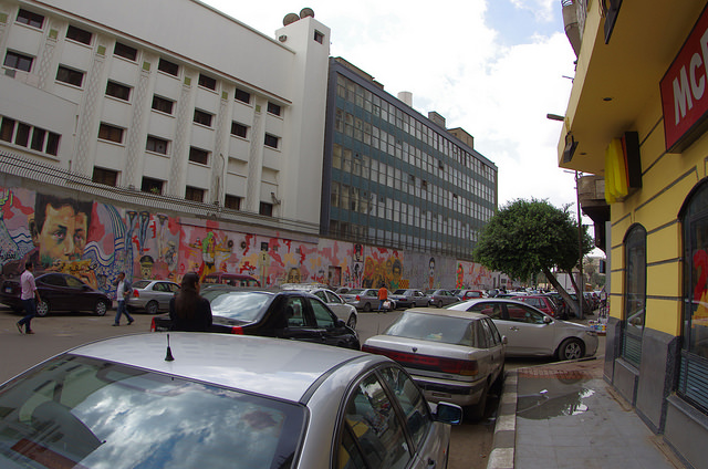 2014-11-16 Egypte Le Caire Mohammed Mahmoud Street