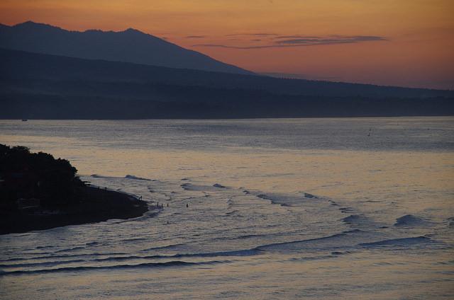 2015-05-08 Bali Sunset Mont Agung