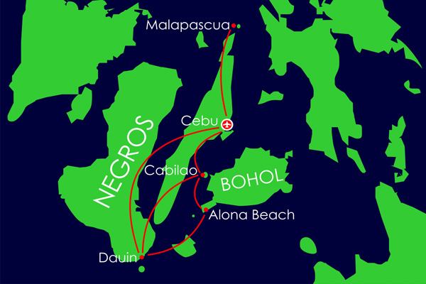 visayas-map-diving