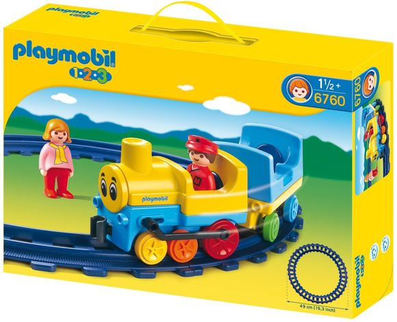 Playmobil - Train avec rails