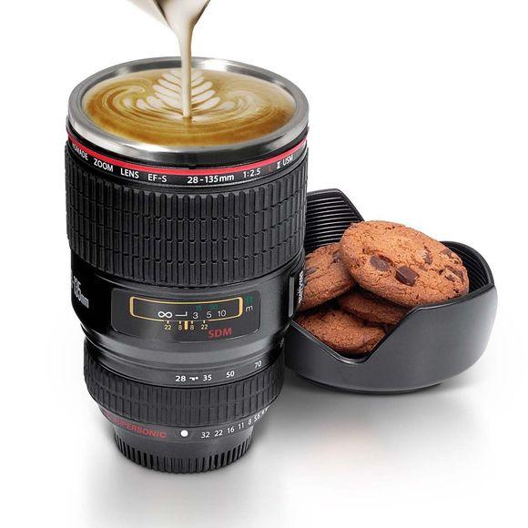 Tasse à Café Mug en forme d'objectif photo
