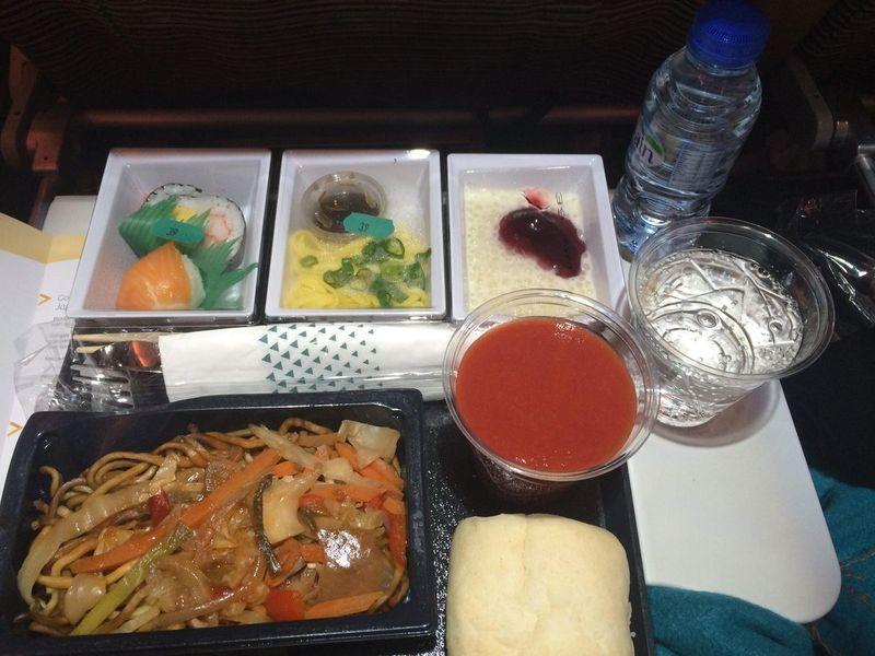 Japon - Jour 1 - Voyage Aller 06