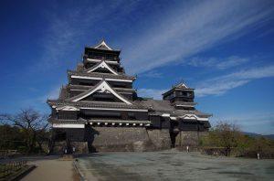 Japon – Jour 3 : Le Château de Kumamoto et les Enfers de Beppu