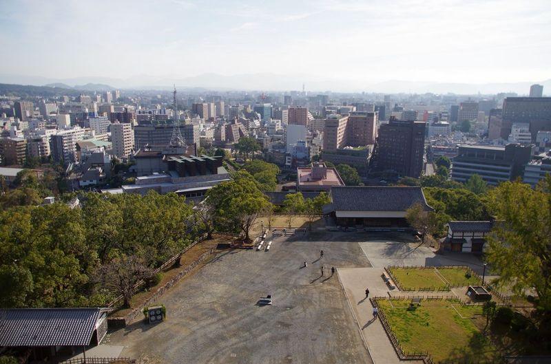 Japon - Chateau Kumamoto