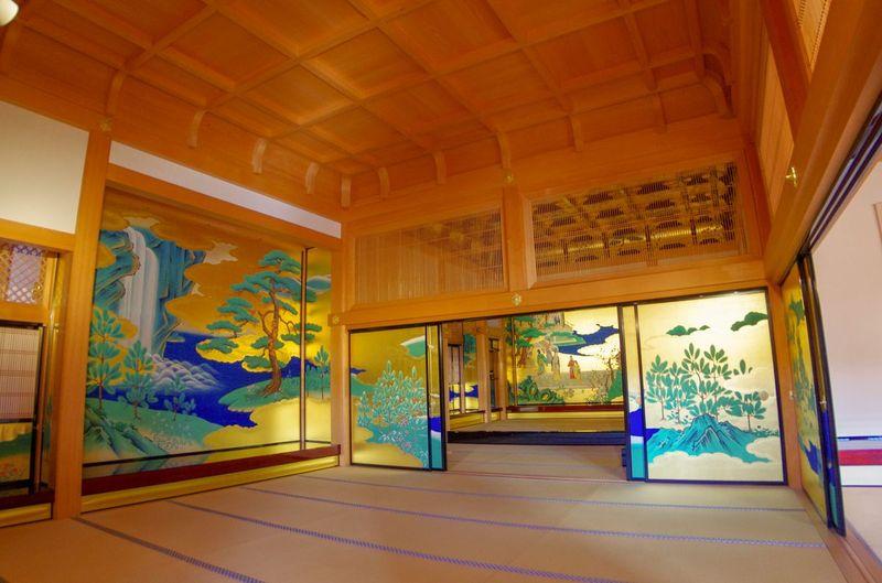 Japon - Chateau Kumamoto palais Honmaru