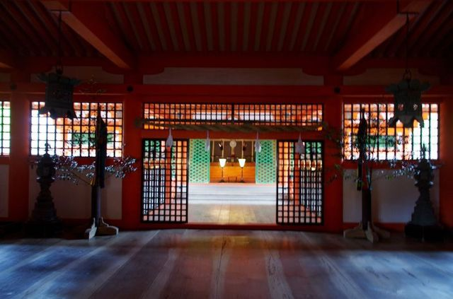 Japon - Miyajima Itsukushima Shrine Sanctuaire