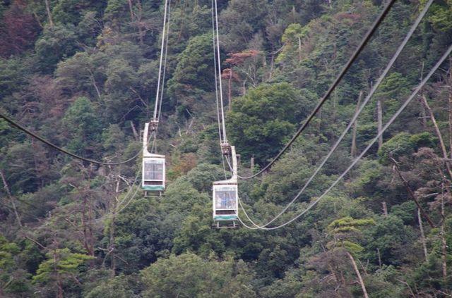 Japon - Miyajima cable car