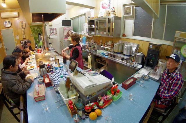 Japon - Miyajima restaurant okonomiyaki