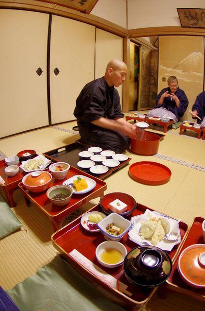 Japon - Koyasan Repas Temple