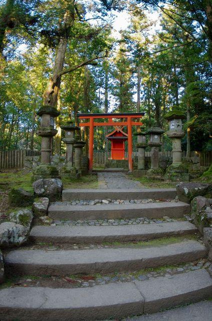 Japon - Nara Ni-no Torii Ichino