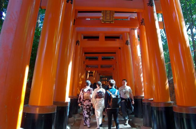 Japon - Kyoto Fushimi Inari Taisha
