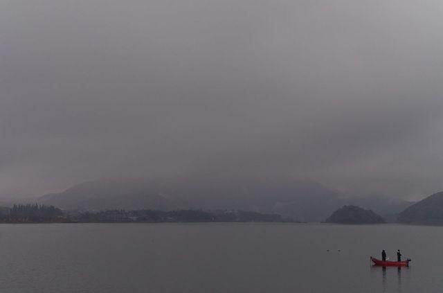 Japon - Vue mont Fuji Kawaguchiko