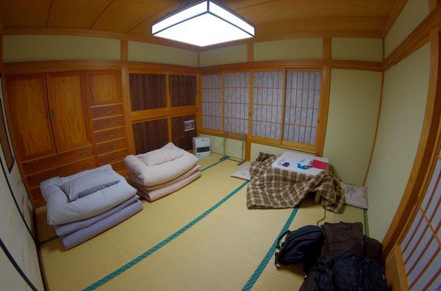 Japon - Chambre Guesthouse Kawaguchiko