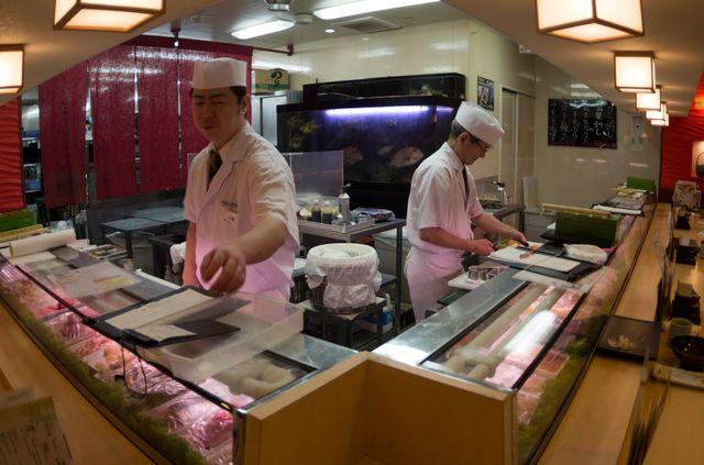 Japon - Tokyo Sushis Zanmai