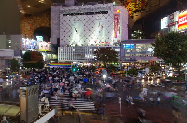 Japon - Tokyo Shibuya Starbucks