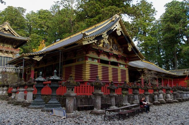 Japon - Nikko - Tosho-Gu - Sanjinko