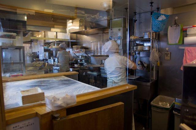 Japon - Tokyo - Udons Tempuras restaurant
