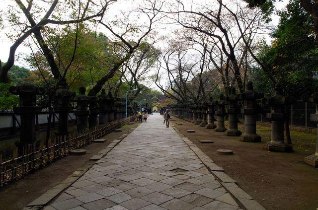 Japon - Tokyo - Ueno Tosho-Gu schrine