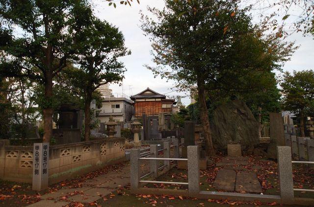 Japon - Tokyo - Cimetière Yanaka