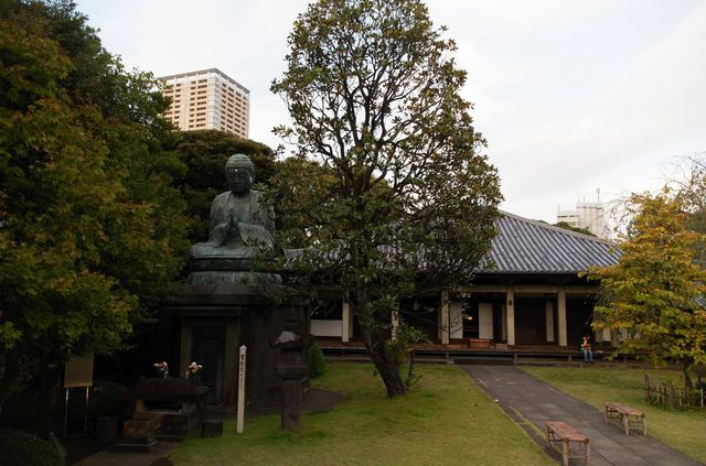 Japon - Tokyo - Cimetière Yanaka - temple Tenno-Ji