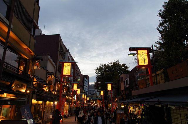 Japon - Tokyo - Nakamise-Dori