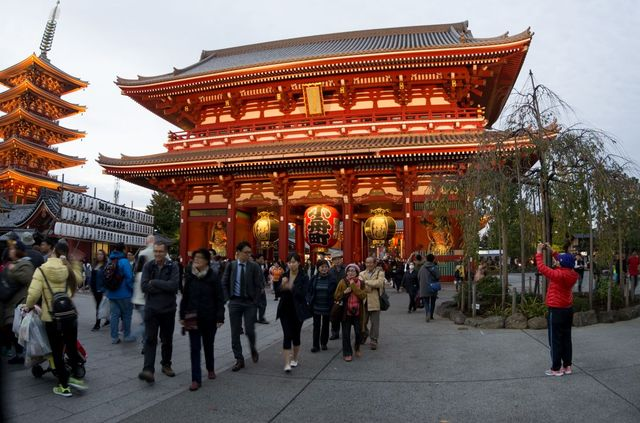 Japon - Tokyo - temple Senso-ji