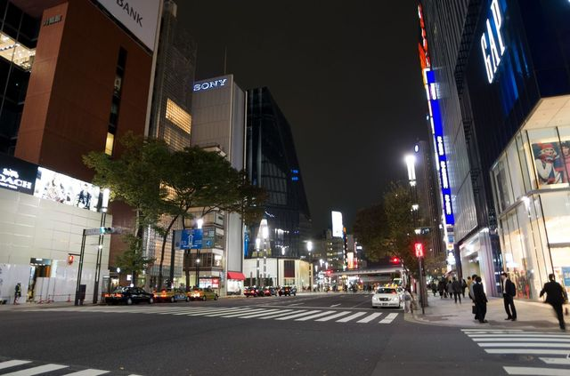 Japon - Tokyo - Ginza Nuit
