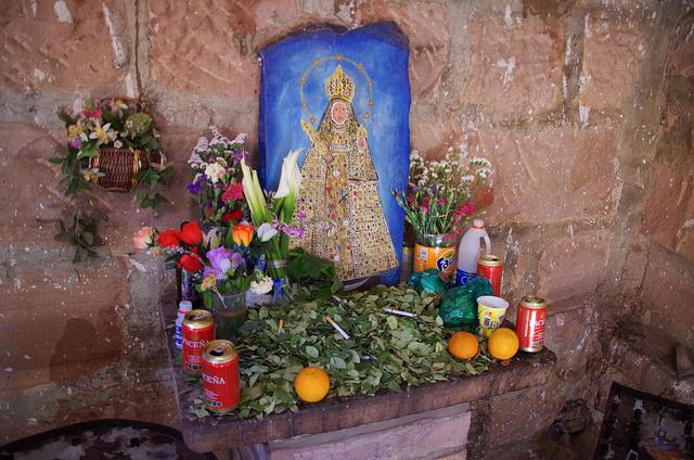 Bolivie - Sucre - Santuario Virgen Chataquila