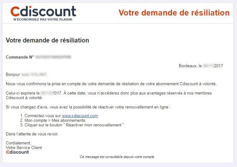 CDIscount-A-Volonté-Demande-de-Résiliation