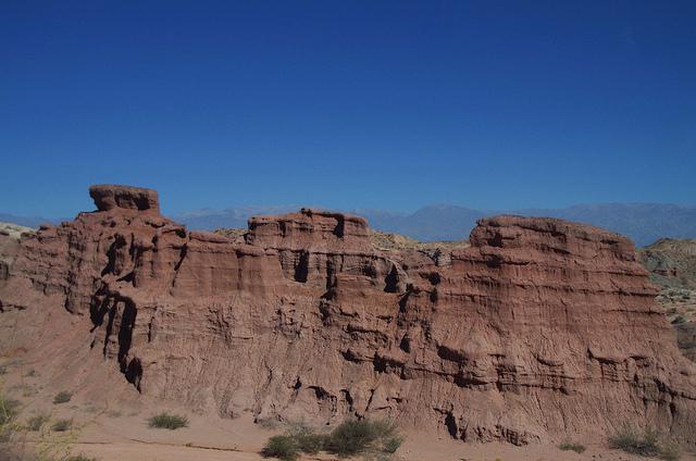 Argentine Quebrada Las Conchas Ventulas