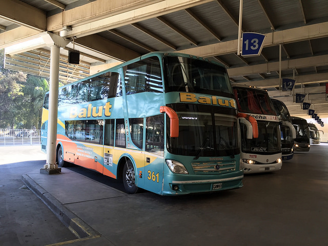 Jour 11 Argentine Bus Balut Salta Jujuy