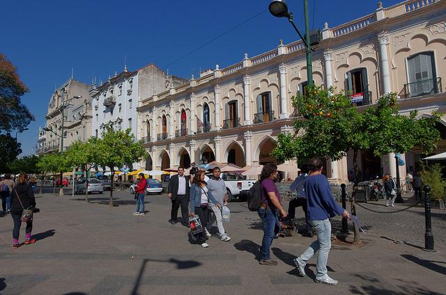 Jour 11 Argentine Salta Plaza 9 De Julio