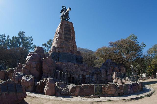 Jour 11 Argentine Salta Monumento General Martín Miguel de Güemes