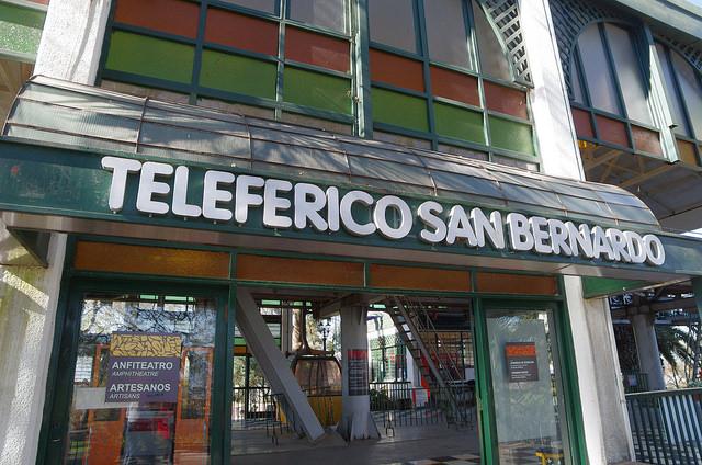 Jour 11 Argentine Salta Teleferico Cerro San Bernardo