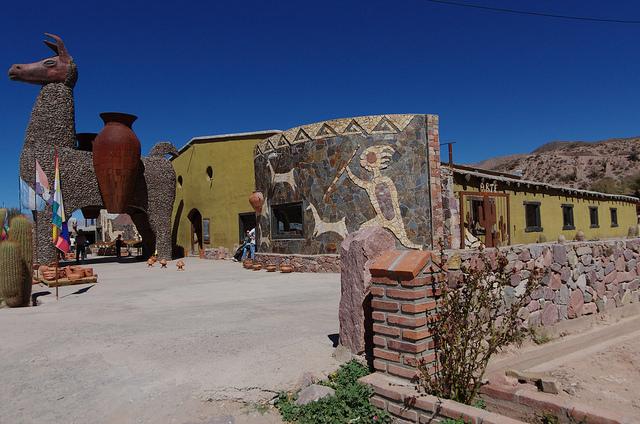 Argentine Quebrada Humahuaca Magasin Lama