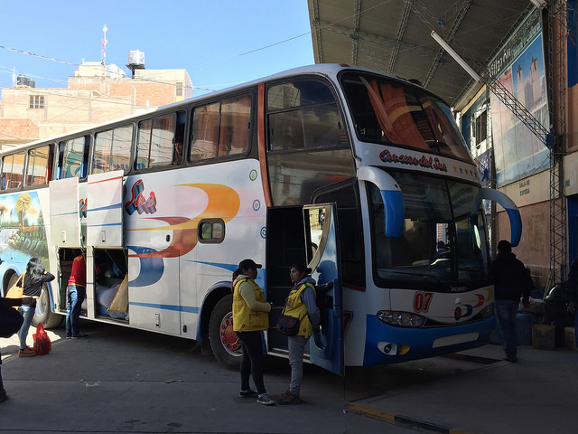 Jour 13 Bolivie Villazon Bus