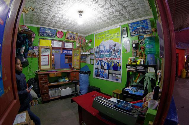 Jour 14 Bolivie Tupiza Gare Autobuses