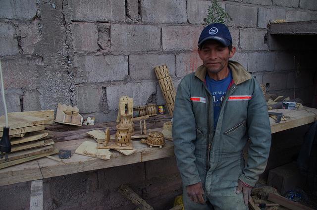 Jour 14 Bolivie Tupiza Menuisier