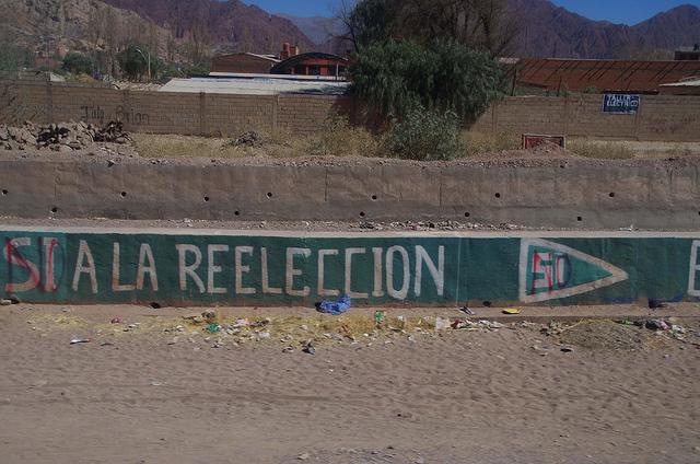 Jour 15 Bolivie Tupiza Evo Morales