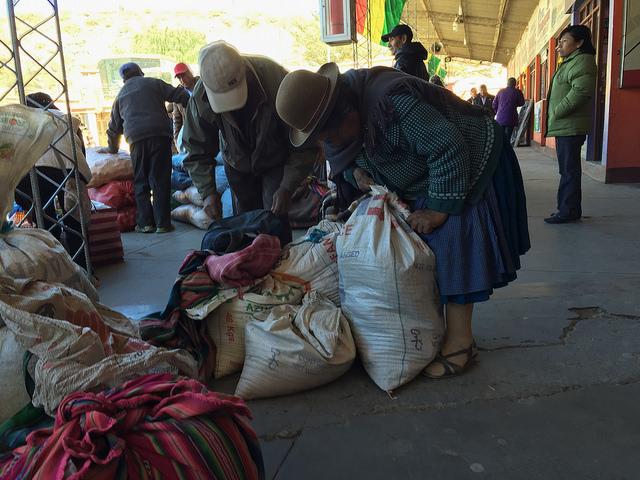 Jour 15 Bolivie Tupiza Gare bus