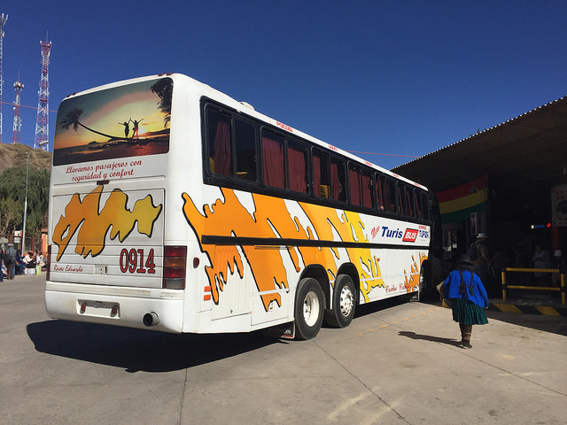 Jour 15 Bolivie Tupiza Gare bus