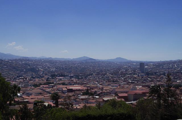 Jour 16 Bolivie Sucre Mirador Recoleta