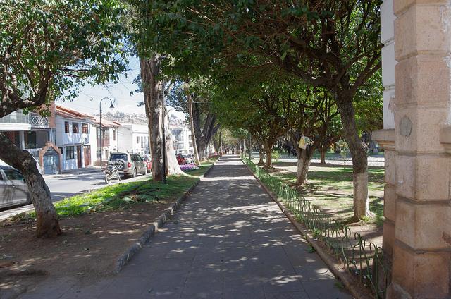 Jour 16 Bolivie Sucre Parque Bolivar
