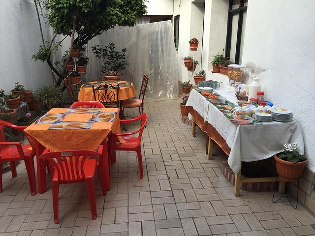 Jour 16 Bolivie Sucre Petit Dejeuner